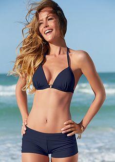 {Venus Swimwear | Enhancer triangle top + hot short bottom}