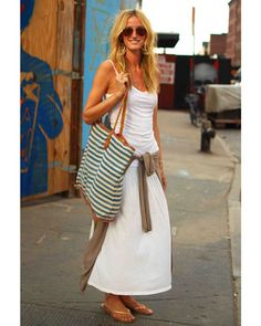 Donna, only time I could wear white: SUMMER STREET-STYLE INSPIRATIONS!