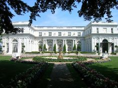 "Rosecliff Manor in Newport RI- used in ""The Great Gatsby"" lovely in person as well!"