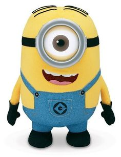 Despicable Me Huggable Plush Minion Stuart Minion Toy, My Minion, Minion Bedroom, Giant Plush, Talking Toys, Despicable Me 2, Toys Uk, Kids Tv, Wicked