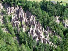 Erdpyramiden auf dem Ritten bei Bozen (Südtirol)