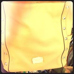 Michael Kors new with tags Large shoulder tote; leather; suntan color MICHAEL Michael Kors Bags Totes