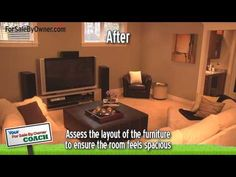 """Your For Sale By Owner Coach"" video series presents ""How To Stage A Home"".  You only get one chance at a first impression, so make sure your home looks appealing to all potential buyers by properly staging it.  Watch this video for key staging tips and hints, as well as the common staging mistakes to avoid.    For more simple steps to a successfu..."
