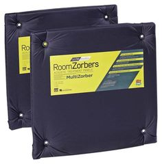 "GearFab - RoomZorbers MultiZorber 24"" x 24"" Panels (Pair) - Black"