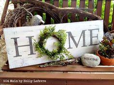 150 cheap and easy diy farmhouse decor ideas - prudent penny pincher Farmhouse Signs, Farmhouse Decor, Farmhouse Style, Farmhouse Baskets, French Farmhouse, Diy Signs, Home Signs, Porch Signs, Easy Home Decor