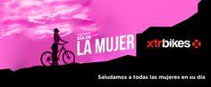 Saludamos a todas las mujeres en su día. Feliz día Internacional de la Mujer! #xtrbikes #ciclismo #diadelamujer #mtb