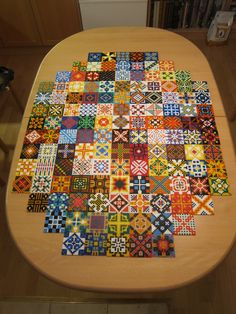 Hama perler bead tiles made by Villi.Ingi