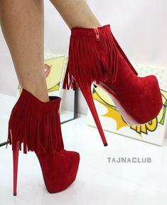 Full erotic shoes