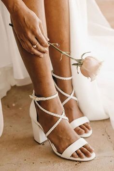 Forever Soles Plaited Leather Wedding Shoes – The Best Places to Buy Your Wedding Shoes Bridal Heels 2 Wedding shoe shopping has never been this fun! Find your perfect pair without leaving home. #bridalmusings #bmloves #bridalshoes #wedding Bridal Shoes Online, Best Bridal Shoes, Boho Wedding Shoes, Bridal Heels, Wedding Shoes Heels, Bride Shoes, White Wedding Sandals, Wedding Dresses, Comfortable Bridal Shoes
