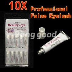 10X Colle Extension Faux Cils Waterproof Maquillage Yeux False Eyelash Glue Pro