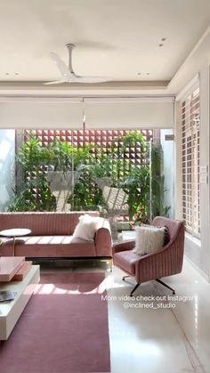 Room Design Bedroom, Home Room Design, Home Interior Design, Living Room Colors, Living Room Designs, Living Room Decor, Tropical Home Decor, Tropical Interior, Indian Home Design