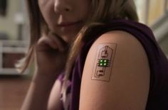 Forget FitBits -- the future of wearable tech is tattoo