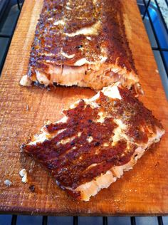 quick smoked salmon...the lower the heat you can get, the smokier your salmon will be
