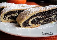 Kynutý makový závin recept - TopRecepty.cz Strudel, Christmas Baking, Pancakes, Muffins, Food And Drink, Cooking Recipes, Sweets, Breakfast, Ethnic Recipes