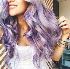 I'll never stop being obsessed with lavender hair