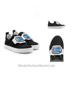 | #Pierre #Hardy #Sneakers aus #Leder mit #Patch #> #Detail #> #Schwarz #für #Damen