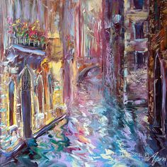 Кравчук Влад (живопись) - «Венеция. Улица»