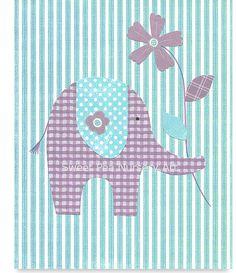Nursery Art Aqua and Lavender Nursery Purple by SweetPeaNurseryArt, $15.00