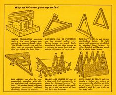 """Bring back the real A-frame, """"the right shape at the right time ..."""