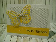 Stampin' Studio: Happy Birthday Butterfly: Tin of Cards