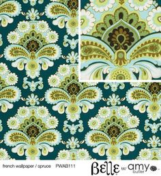 Amy Butler BELLE: French Wallpaper Spruce