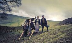A sense of place: BBC1's historical drama series The Village was filmed in England's Peak District.  Photograph: Brian Sweeney/BBC