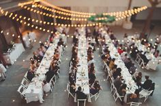 Los Angeles Warehouse Wedding: Stephanie + Scott
