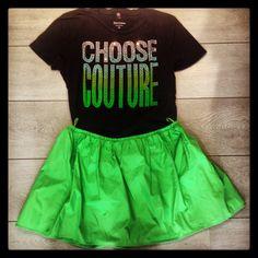 Juicy t shirt Pinko skirt @Miko de Bruyn store