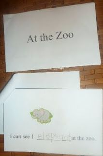 zoo theme, must make this book with preschoolers