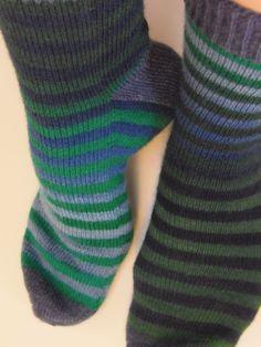 Lankaterapiaa: Liukuraitaa - Zauberball stripes
