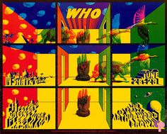 Classic Poster - Who at Shrine Auditorium 6/28-29/68 by Victor Moscoso