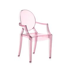 Discover the Kartell Loulou Ghost Children's Chair - Pink at Amara