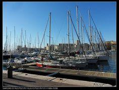 马赛的老港,不巧的是今年大修。。