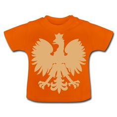 Polska Baby Shirt [Orange/Sand/Samtig] - Baby T-Shirt