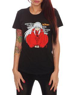 InuYasha Girls T-Shirt | Hot Topic. Loved InuYasha!!!!!!