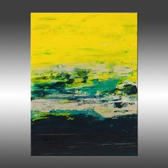 Urban Planes 2 - Art Painting, Original Abstract Art, Modern Art Painting, Abstract Canvas Wall Art, Contemporary, Industrial, Yellow, Blue