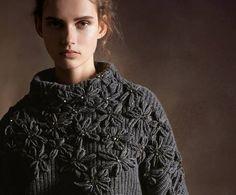 Letras e Artes da Lalá: Blusas e casacos de crochê (pinterest)