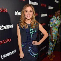 "SAG Awards social media ambassador Sasha Alexander revealed her go-to essie polish is 'ballet slippers.' ""Always a classic!"""