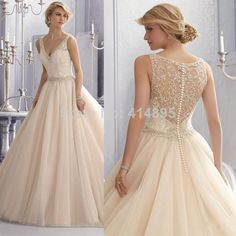 Vestido De Noiva 2014 Sexy Vintage Wedding Dress Lace Ball Gown Wedding Dresses 2014 Sexy Bridal Gown Robe De Mariage $219.00