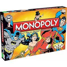 VR Collectable - DC Comics Originals Monopoly