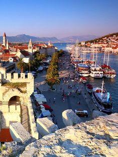 The town of Trogir, Adriatic Sea, Croatia   by Joey Jolly Johnson