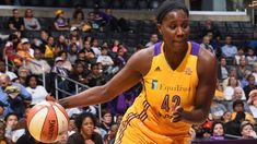 Los Angeles Sparks center Jantel Lavender named WNBA Sixth Woman of the Year