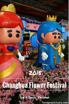 Goats & Royalty – The 2015 Changhua Flower Festival in Xizhou, Taiwan | Foreign Sanctuary