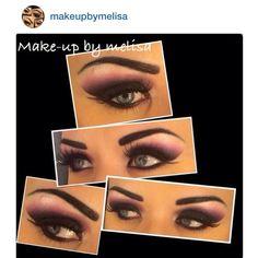 #eyemakeup inspiration by @Melisa Hall wearing our false eyelashes