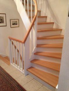 Möchten Sie Ihre Holztreppe abschleifen lassen? So könnte Ihre Treppe aussehen.