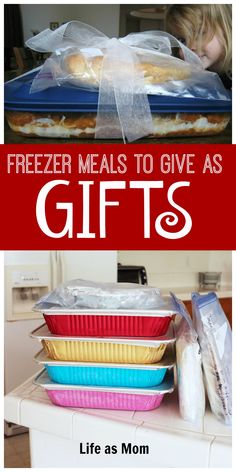 Believe it or not, a freezer meal can make a great gift! Anyone (not just new parents and the bereaved) will enjoy a homemade meal prepared with love. Make Ahead Freezer Meals, Freezer Cooking, Freezable Meals, Freezer Recipes, Veggie Freezer Meals, Cooking Recipes, Cooking Pork, Crockpot Meals, Chili Recipes