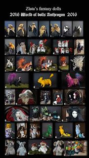 Zlata's Fantasy Forest: Итоги Zlata's fantasy dolls. World of dolls Anthro...