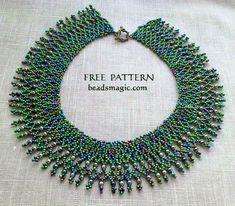 Beads Magic - patrones de cuentas libres y todo sobre joyería hecha a mano: patrones de cuentas, esquemas, fotos, ideas, inspiración.