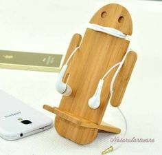 wooden phone holderrs - Buscar con Google