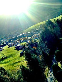 Gondelfahrt auf das Rellerli ob Schönried/Gstaad. Switzerland, River, Mountains, Nature, Outdoor, Beautiful, Outdoors, Naturaleza, Outdoor Games